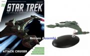 Star Trek Official Starships Collection #020 Klingon V'Orcha Class Eaglemoss